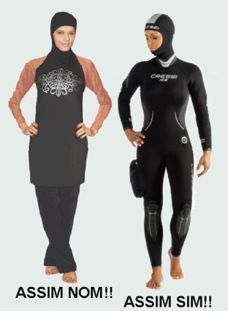 Burkini Vs Neopreno